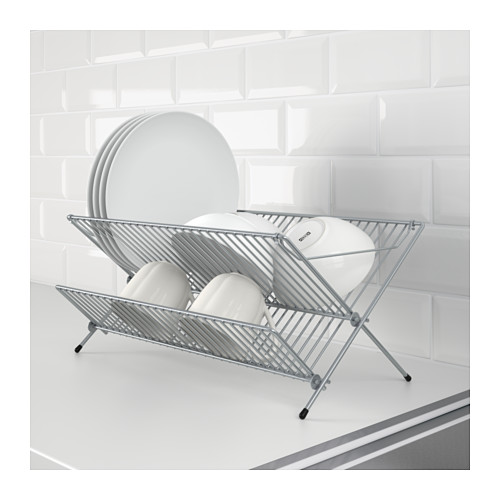 collapsible dish rack ikea