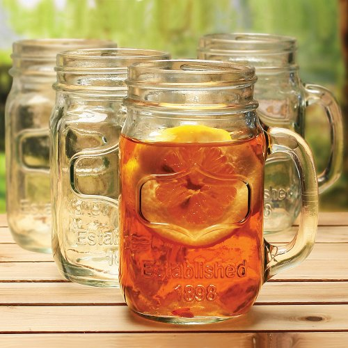 drinking mason jars