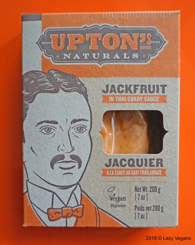 Upton's jackfruit in Thai curry sauce