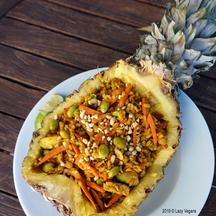 pineapple rice bowl