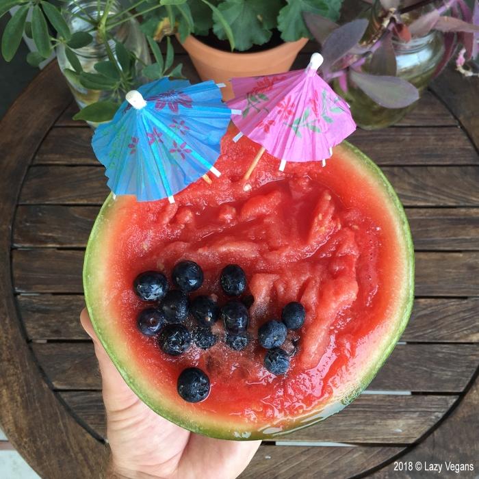 vodka watermelon slush bowl