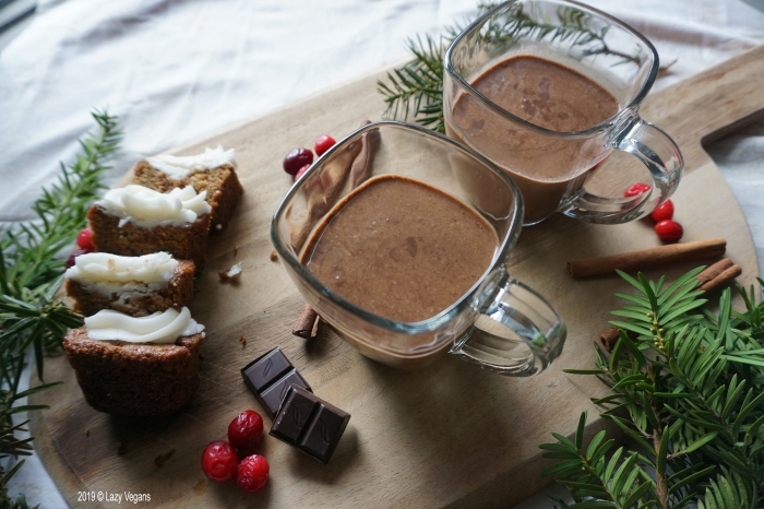 hazelnut chocolate eggnog