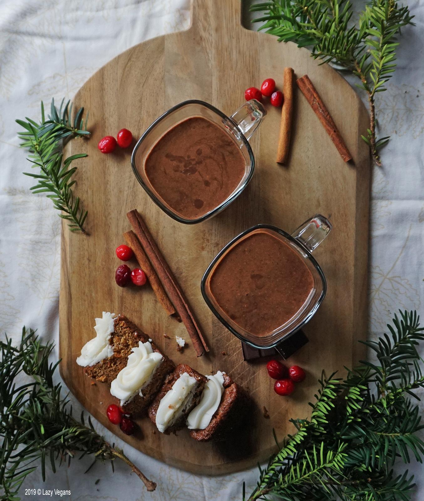 hazelnut chocolate eggnog